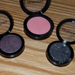USED sephora eyeshadow /blush set
